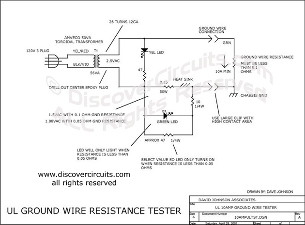 Testing Ground Wire Circuit ul Ground Wire