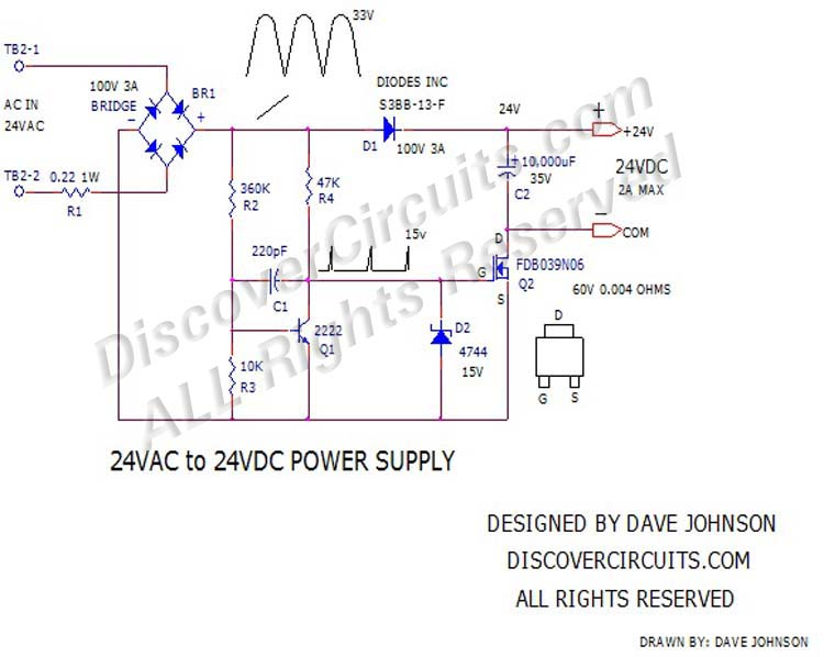 circuit power supply volts ac to volts dc power supply 24vac to 24vdc all rights reserved