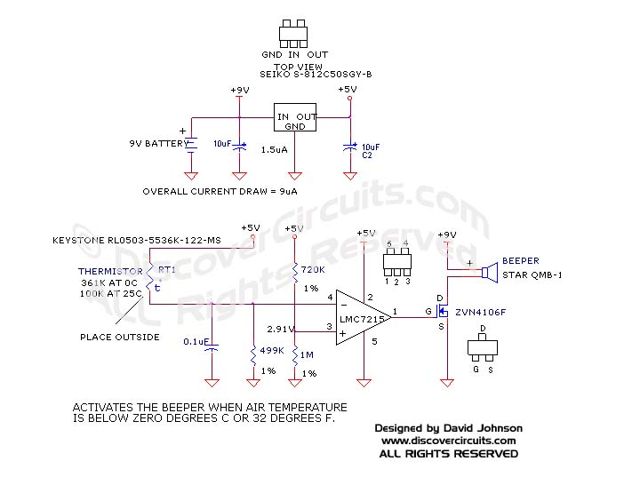 circuit freezing temperature alarm rh discovercircuits com