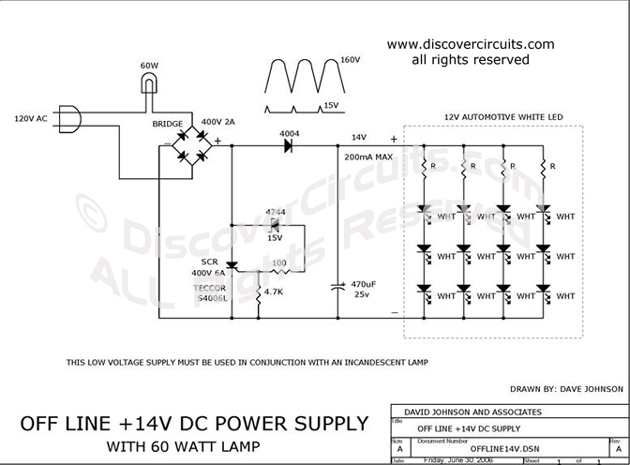 circuit: table lamp with auxiliary 12v automotive style ... blinking led circuit diagram 12v led circuit diagram #12