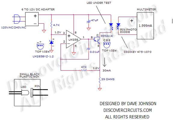 circuit circuit white led life tester schematic or circuit wiring rh exoticterra co