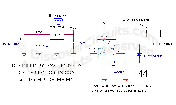 circuit light to frequency converter rh discovercircuits com RV Power Converter Diagram Mitsubishi Electric Converter Diagram