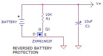circuit diagnosis, issue 1 2011,a common mistake is to install batteries backwards a simple polarity protection addition to the circuit will reduce the number of dissatisfied customers