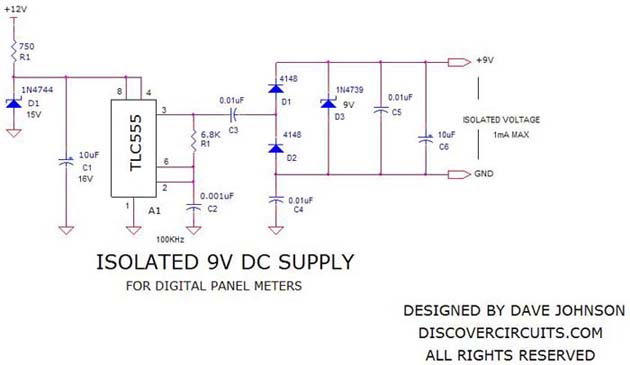 Isolated power supply
