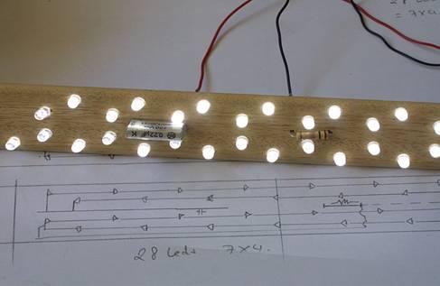 علمها: برق الکترونیک فناوری-پروژه و مدار الکترونیک ساخت لامپ ال ای دی 220 ولت